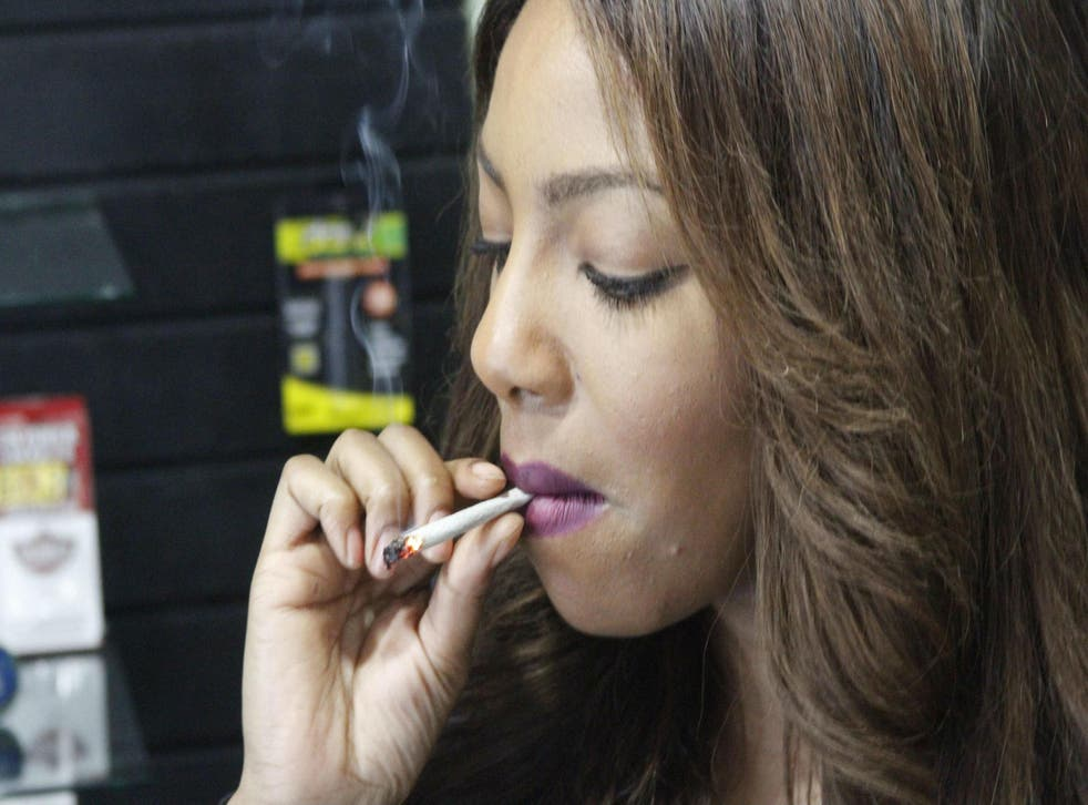 Charlo Greene quit her job as a television reporter to become an advocate for cannabis