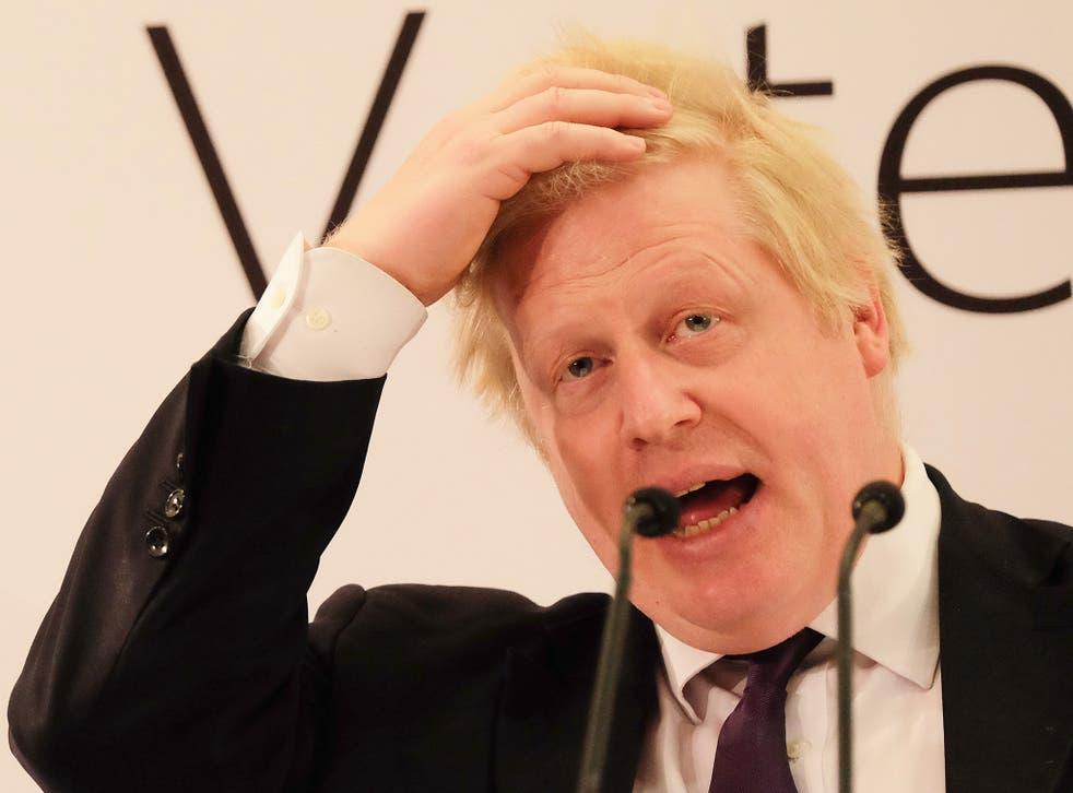 Boris Johnson had previously called the TTIP trade agreement 'Churchillian' in its brilliance