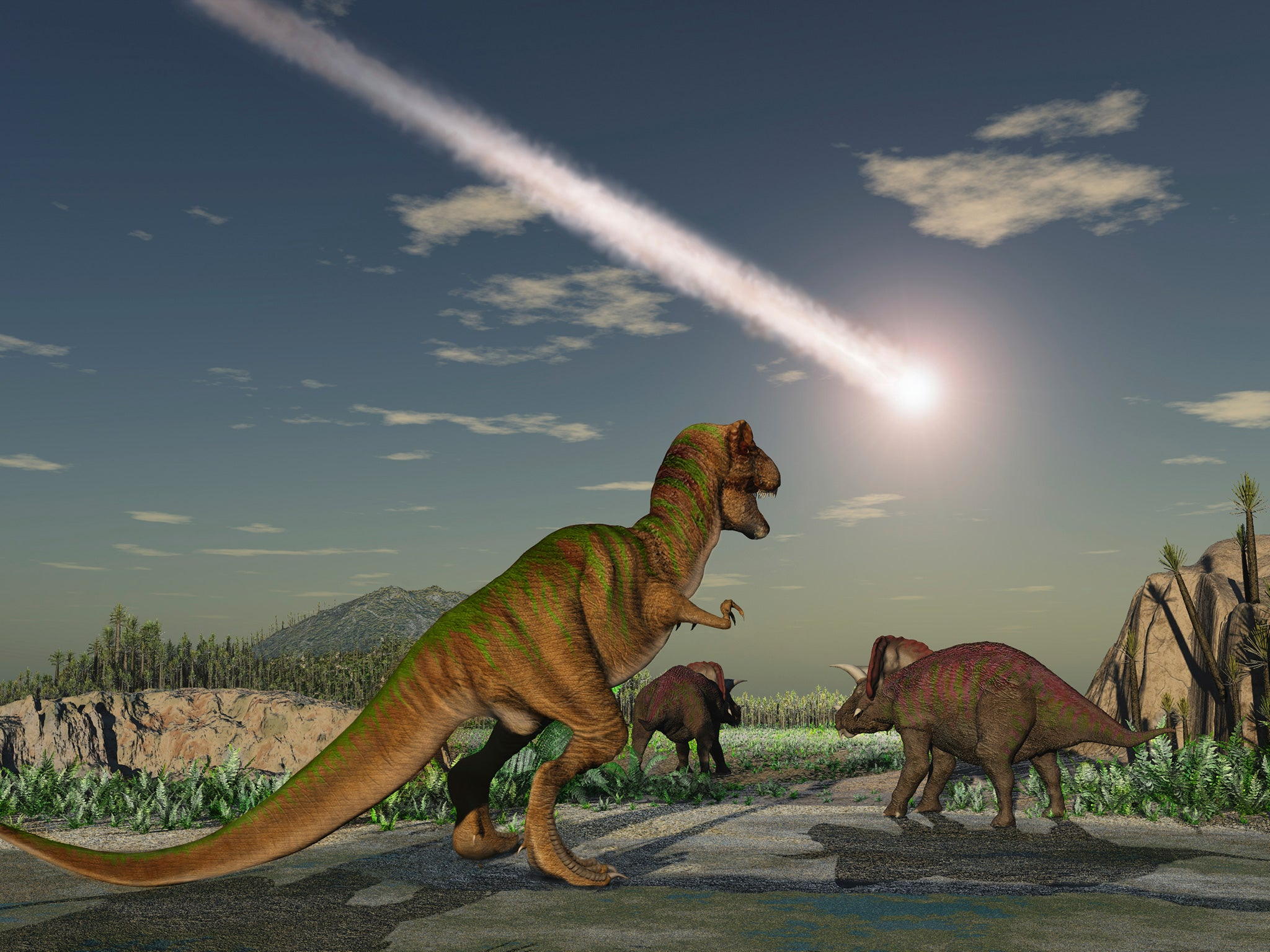 Asteroid that killed the dinosaurs created endless night ...