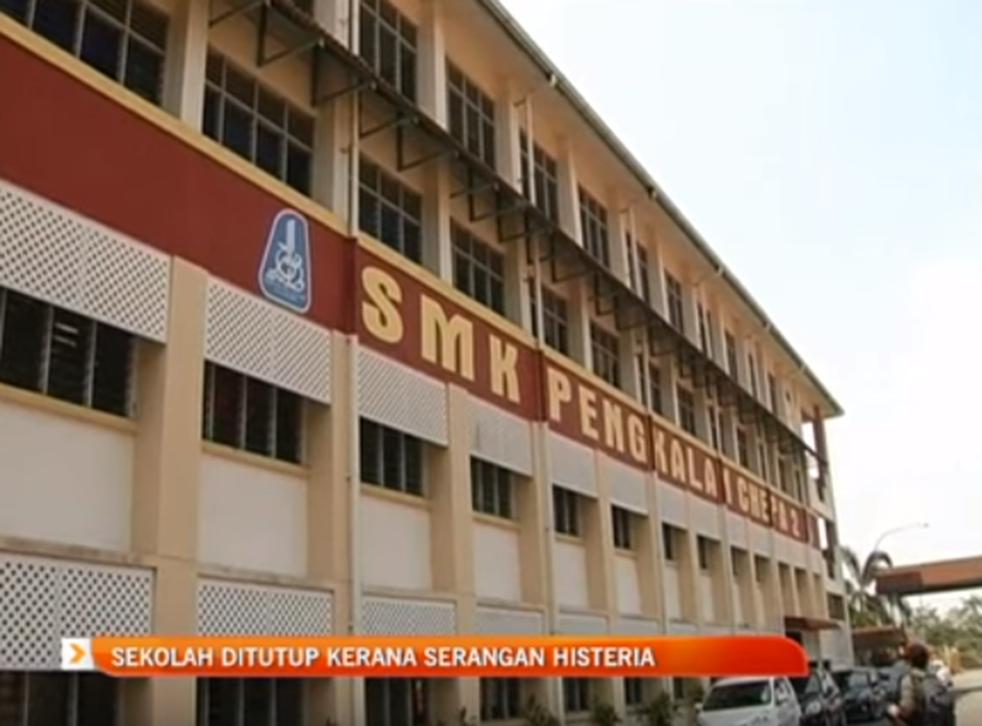 SKM Pengkalan Chepa 2 school where teachers and students have reportedly seen a black figure