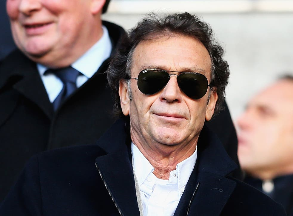 Massimo Cellino, owner of Leeds United
