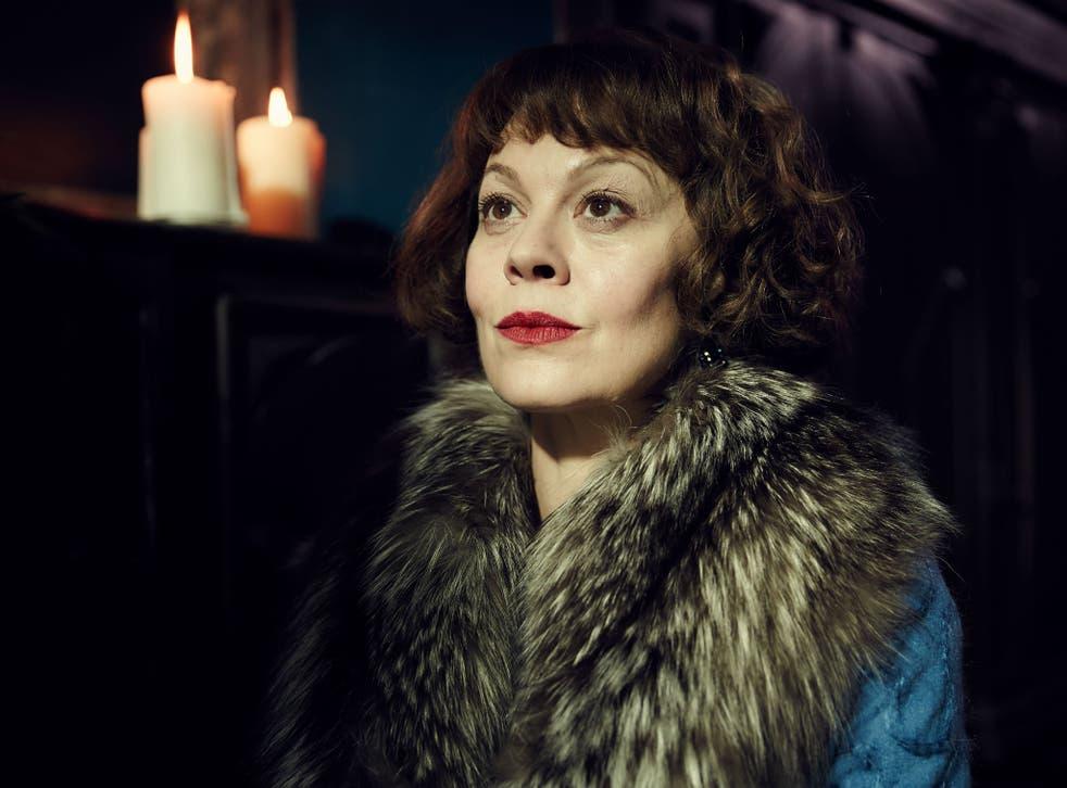 Helen McCrory battles with self-loathing as Polly in Peaky Blinders