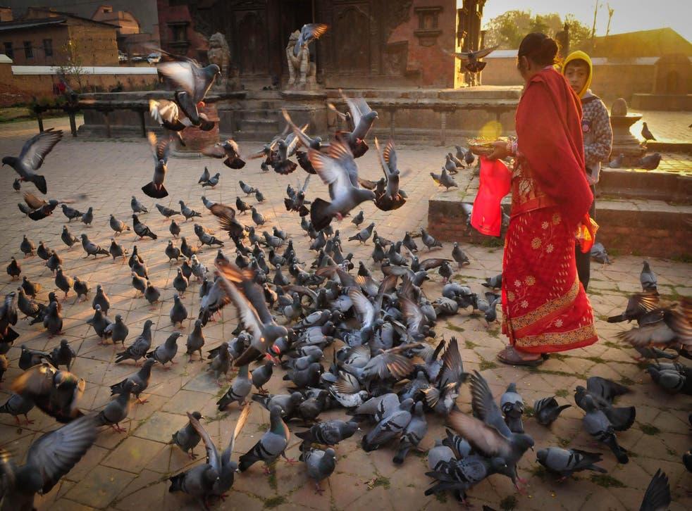 Dawn at Indreshwar Mahadev Temple