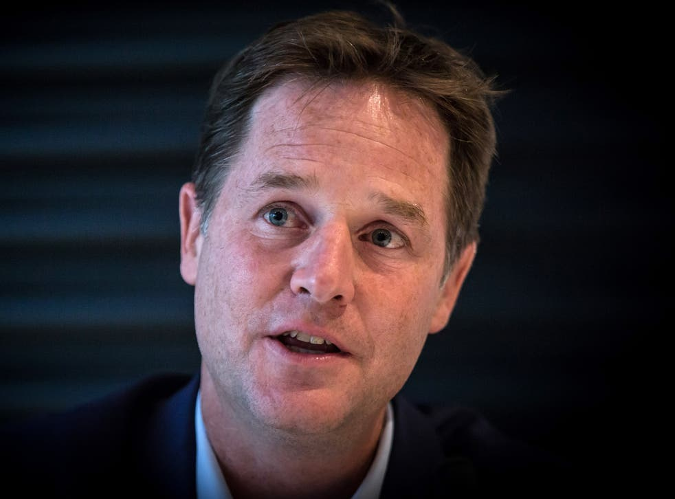Britain's 'value to America' would be 'severely diminished' by Brexit, Clegg warned