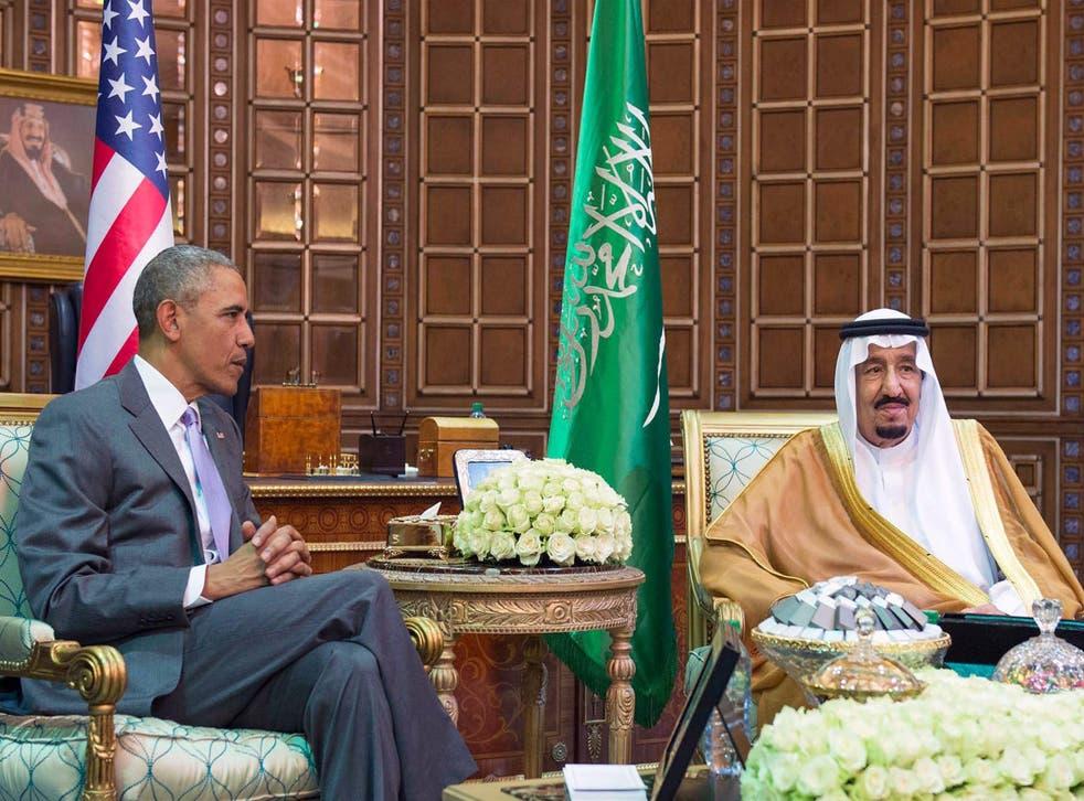 President Obama met King Salman in Riyadh yesterday