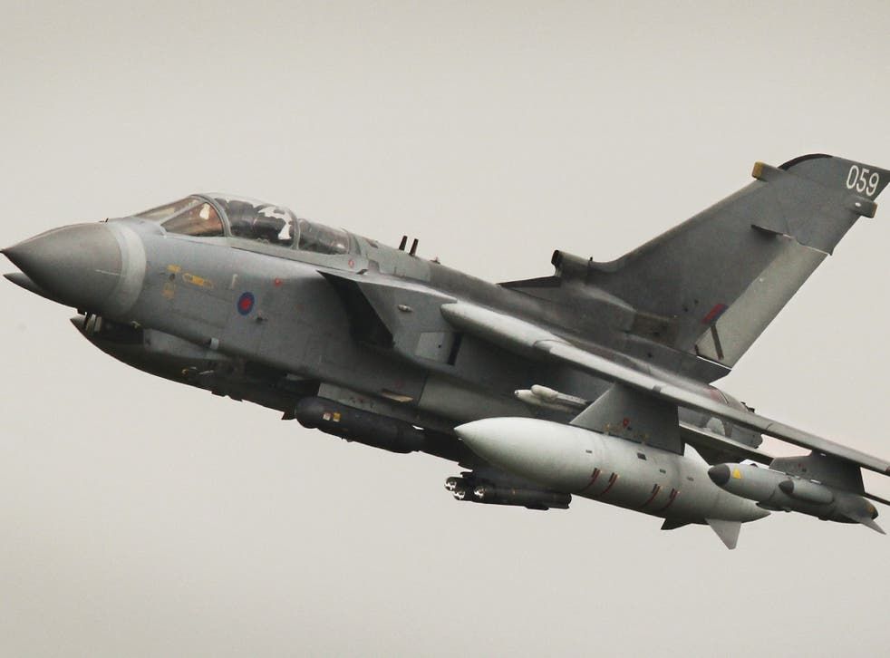 A Tornado GR4 aircraft. 'It is nonsense to suggest there is no new funding,' an MoD spokesman said