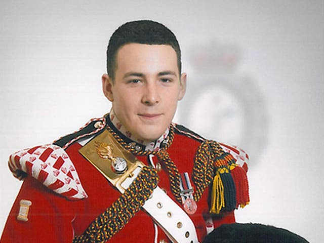 Fusilier Lee Rigby was killed outside his barracks in Woolwich, south London in 2013