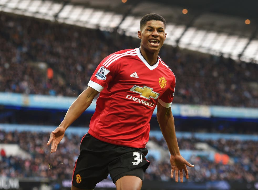Marcus Rashford has attracted the interest of football agent Jorge Mendes