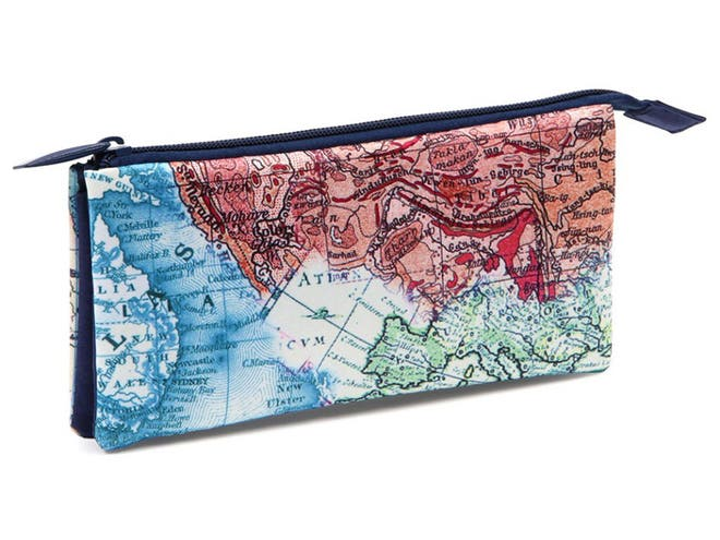9 best pencil cases the independent a wise choice for any budding cartographer this pencil case features a vintage map print covering parts of australia europe and elsewhere gumiabroncs Choice Image