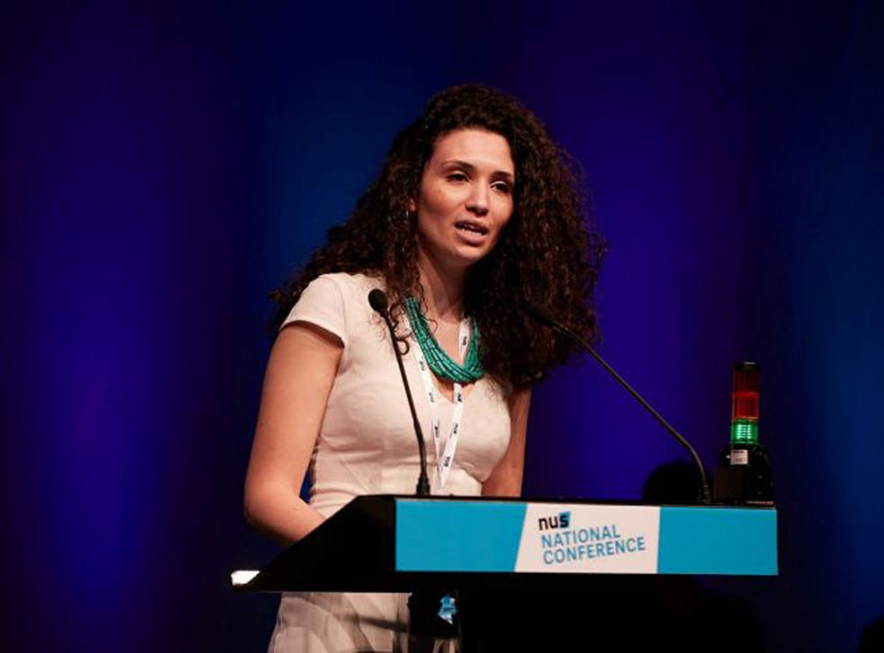 Malia Bouattia helped host a play, titled 'Seven Jewish Children', that has been criticised for being anti-Semitic