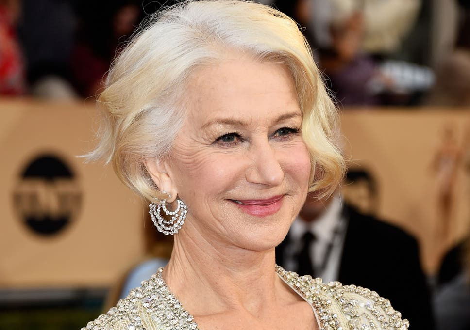 Actress Helen Mirren attends the 22nd Annual Screen Actors Guild Awards at  The Shrine Auditorium on