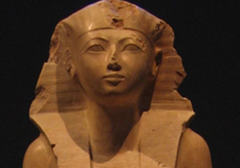 The female pharaoh so successful, Egypt turned her into a