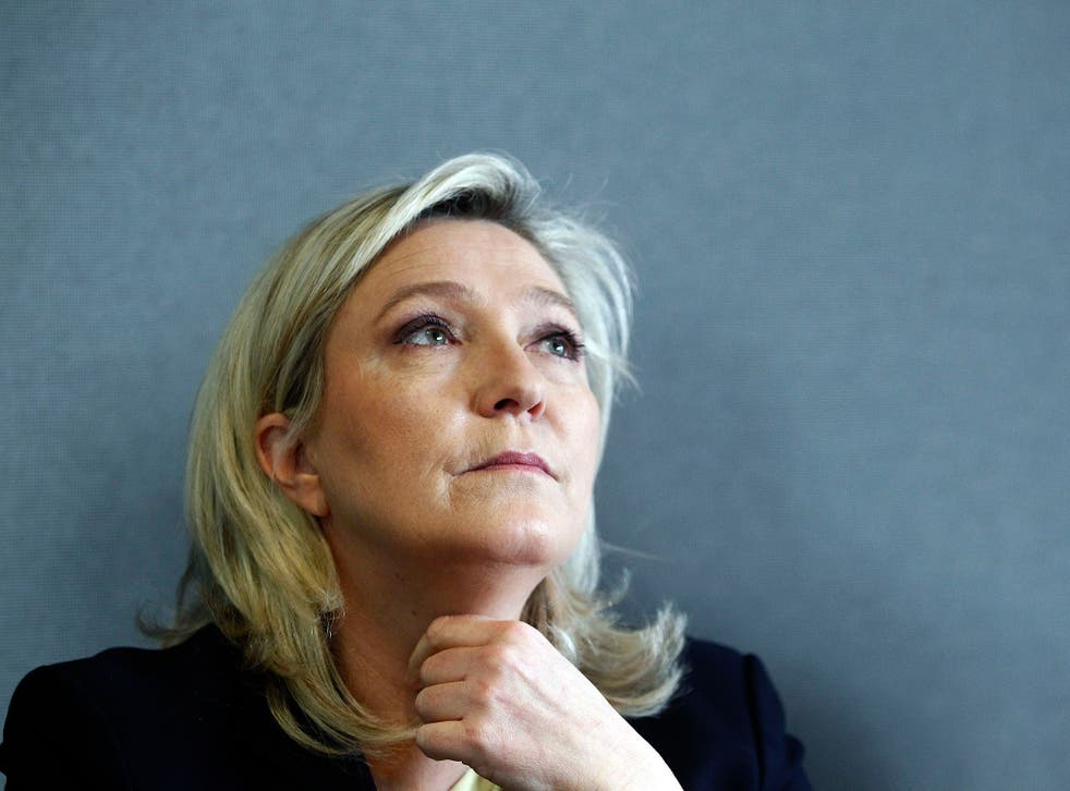Marine Le Pen's presence in Britain would not be 'conducive to the public good', says Brexit chief