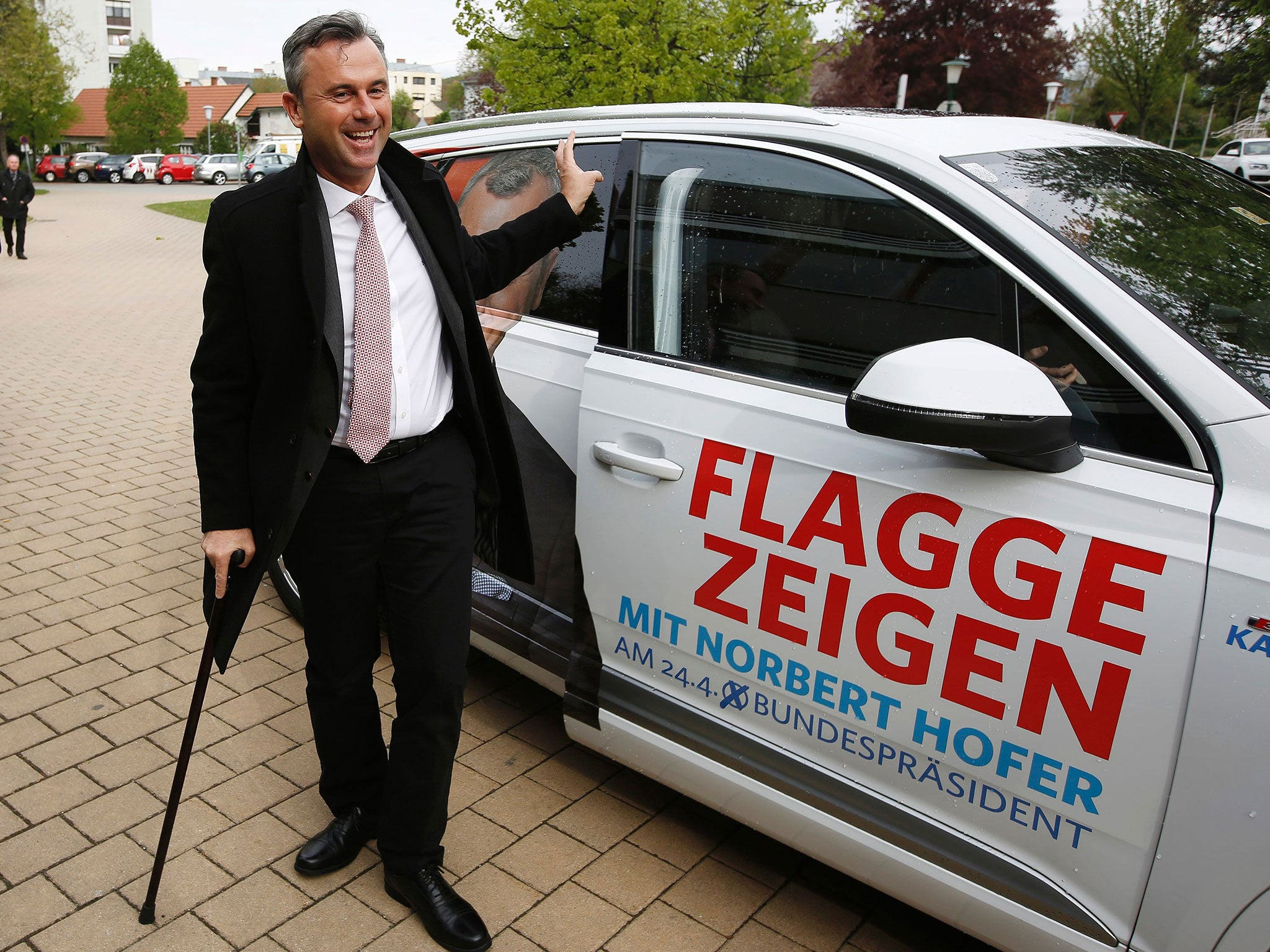 Norbert Hofer: The man who could become Europe's first far-right head of state since World War II