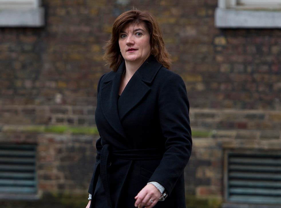 Ms Morgan repeatedly insisted there would be no U-turn in the plans