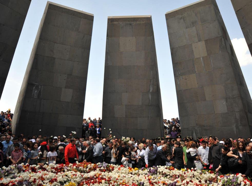 Genocide commemorations in Yerevan, Armenia in 2012