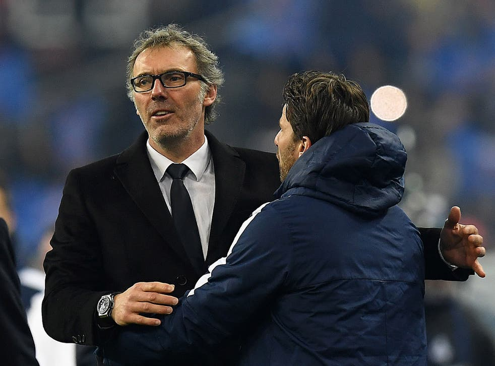 Laurent Blanc has emerged as a shock contender to replace Louis van Gaal at Manchester United