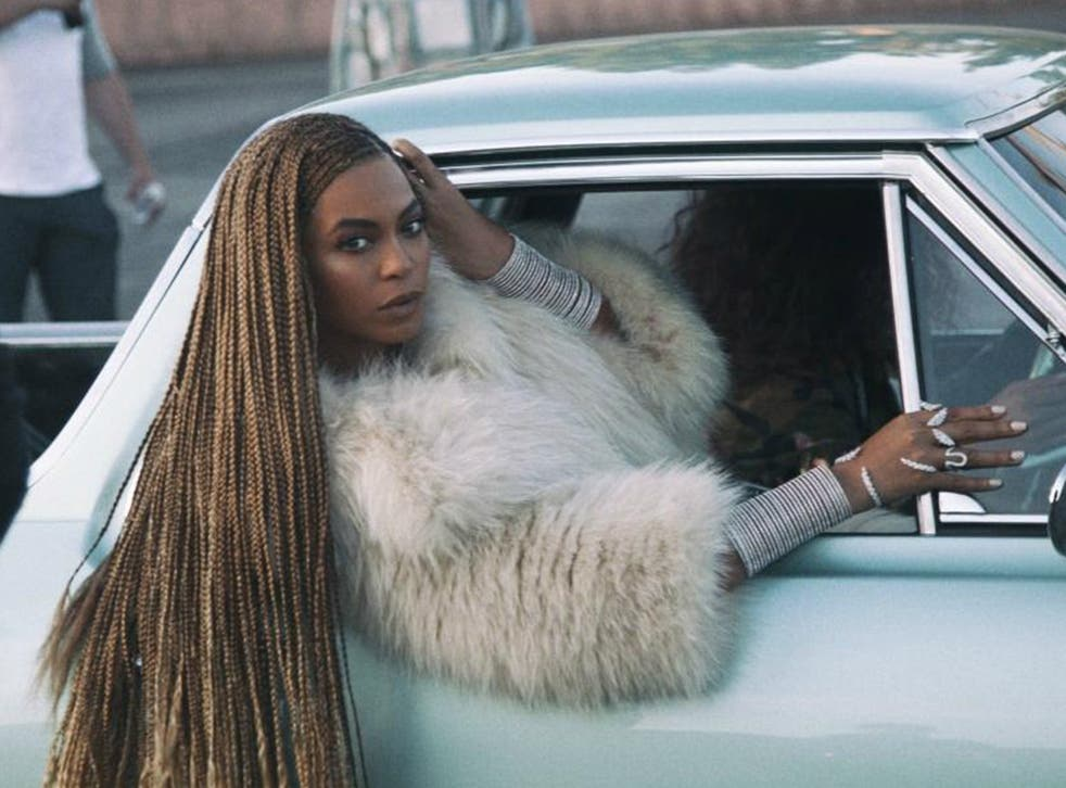 Beyonce in the video for 'Formation'