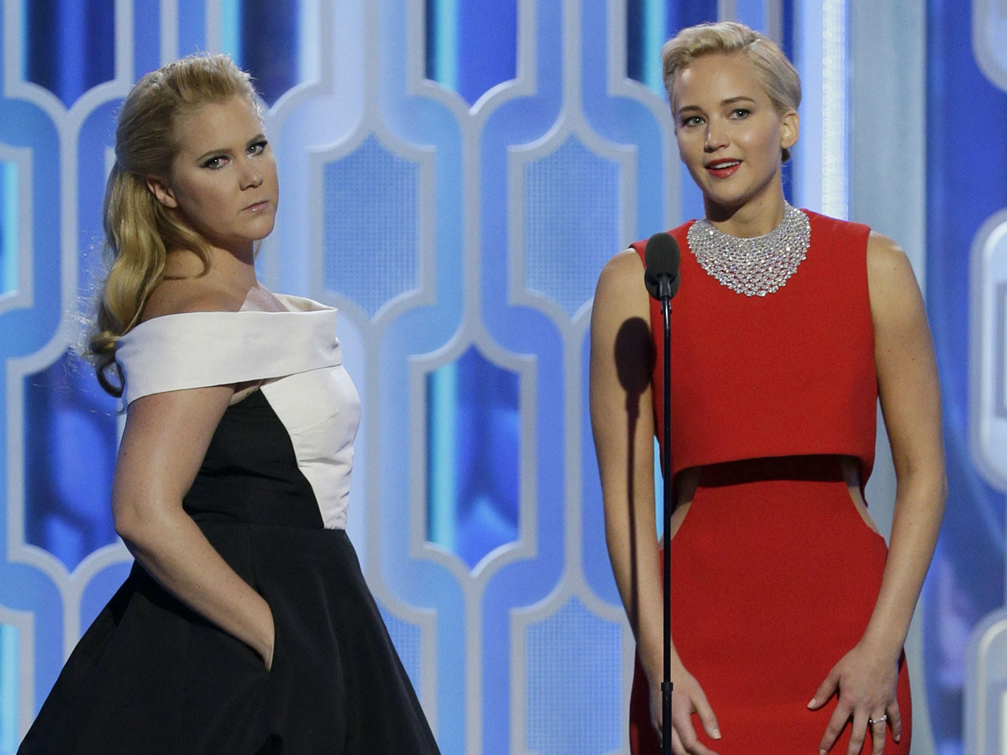 Amy Schumer 'fact checks' Jennifer Lawrence interview