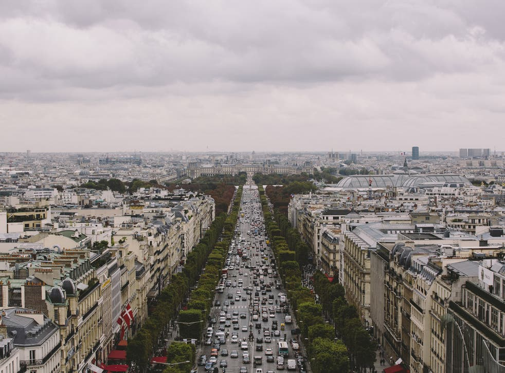 Air pollution from vehicles has been a big problem in Paris