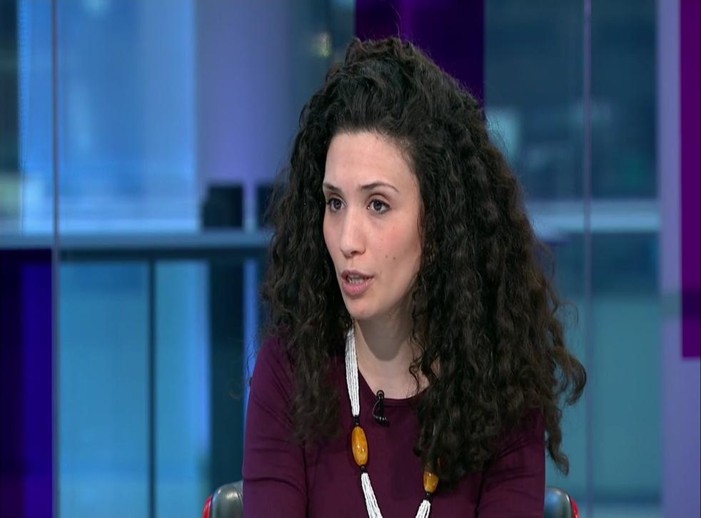 Malia Bouattia, pictured