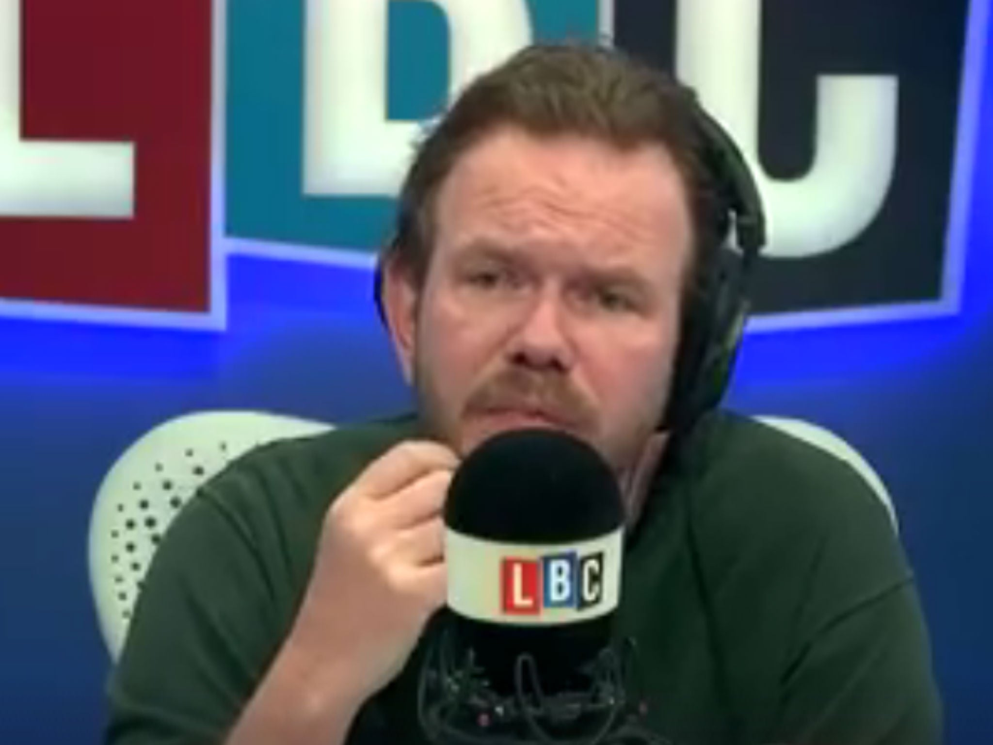 James O'Brien demolishes Leave voter in farcical on-air standoff | The  Independent
