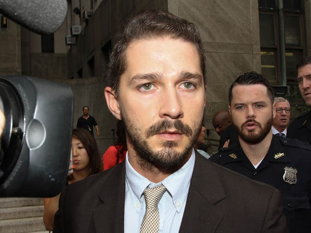 Shia LaBeouf is looking for a driver