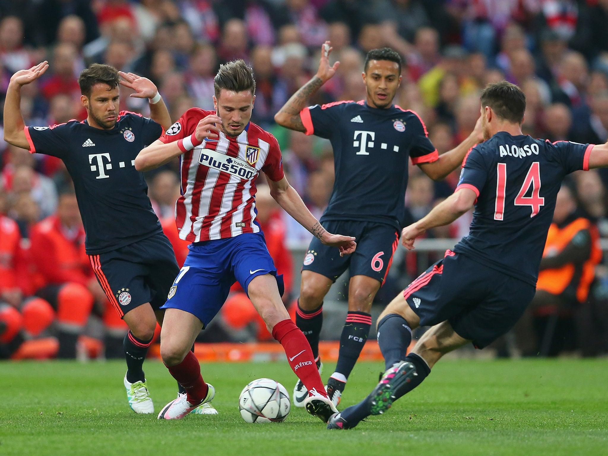 Bayern Vs Atletico Madrid