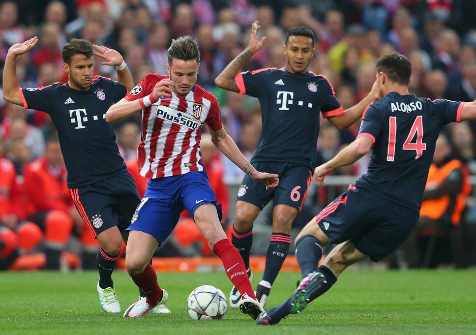 Atletico Madrid vs Bayern Munich match report  Saul Niguez wonder goal  gives Atletico the advantage de2b2259581c2