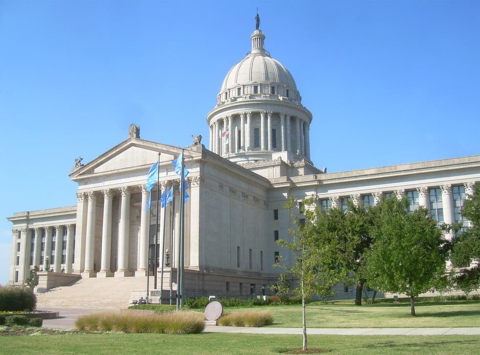 The Oklahoma State Capitol, where the state's court of appeal met up until 2011