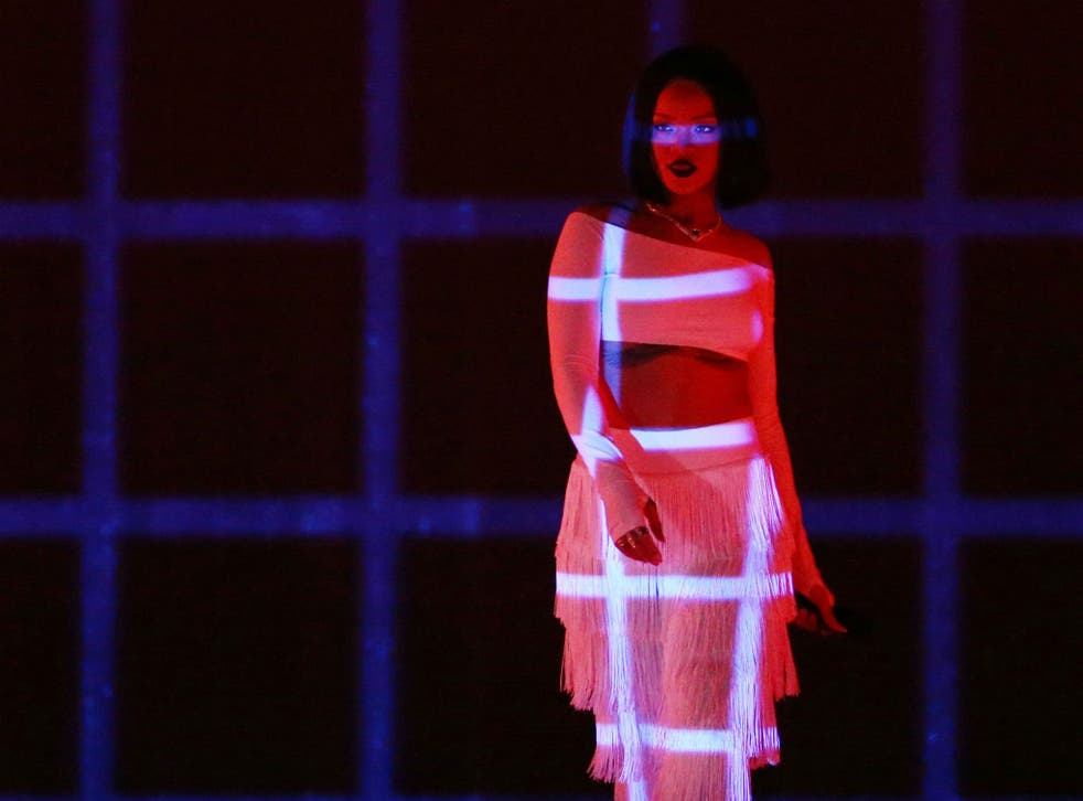 Rihanna recently surprised fans by joining Calvin Harris on stage at Coachella