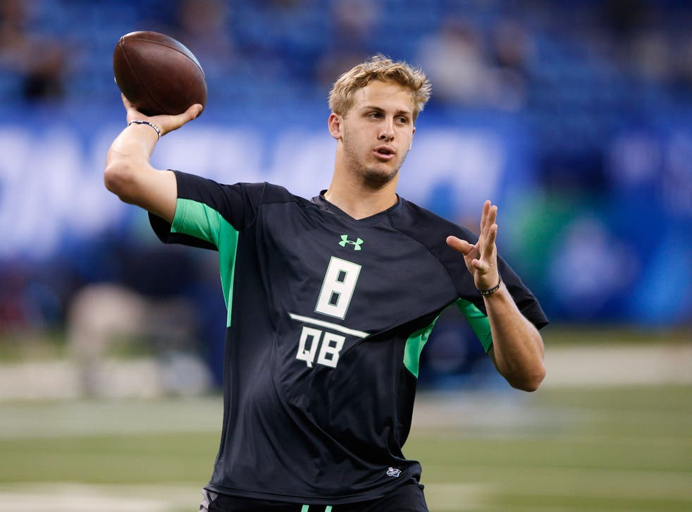 Jared Goff is expected to go as the No 1 overall draft pick