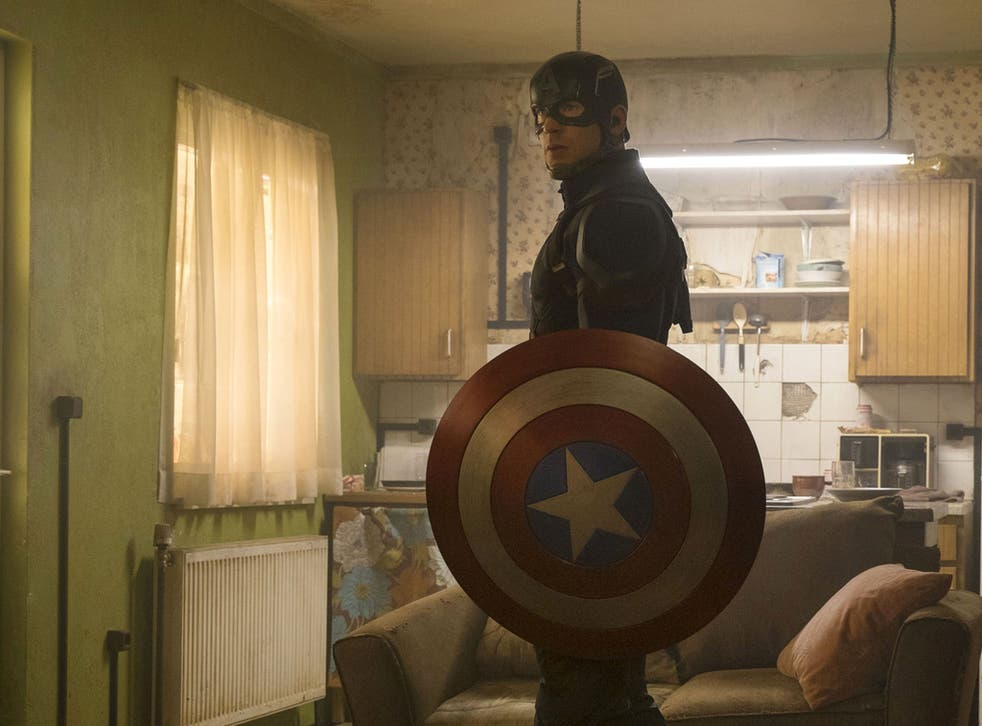 Chris Evans has once more suited up as Captain America, his seventh appearance as the superhero