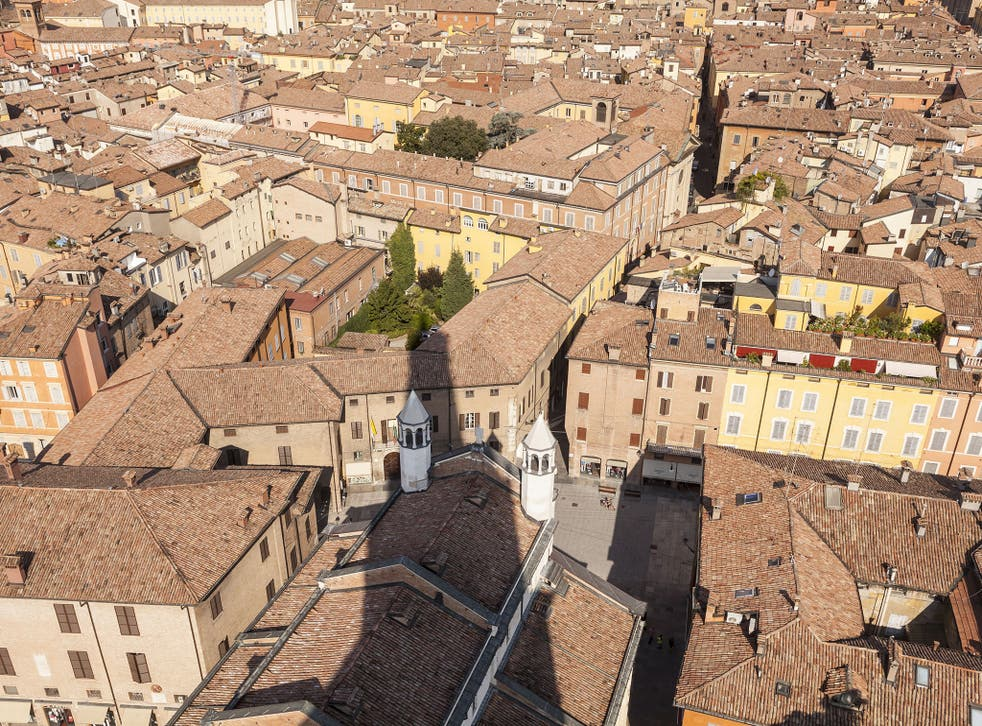 The case over the terms of the divorce was heard in a civil court in Modena
