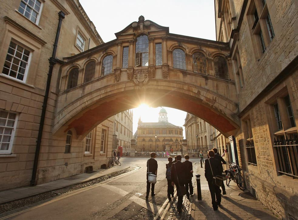 Oxford University, pictured