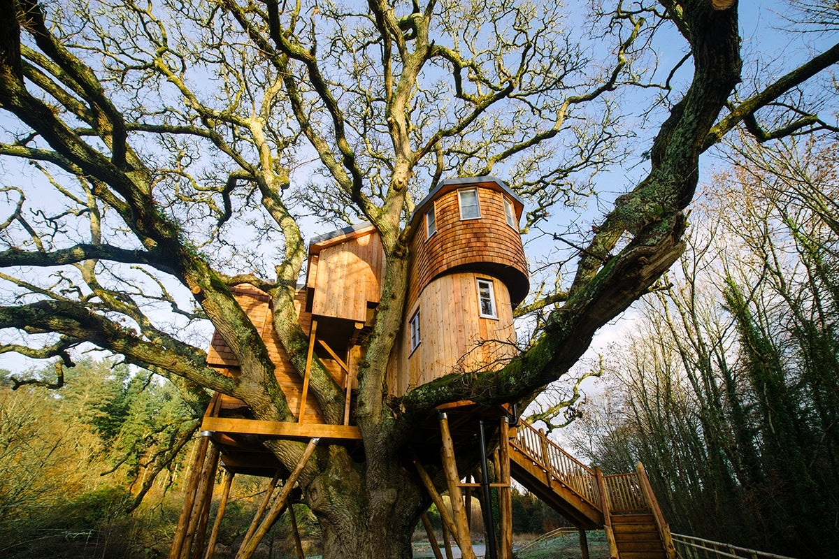 The uk 39 s 6 best treehouses the independent for Best treehouse designs