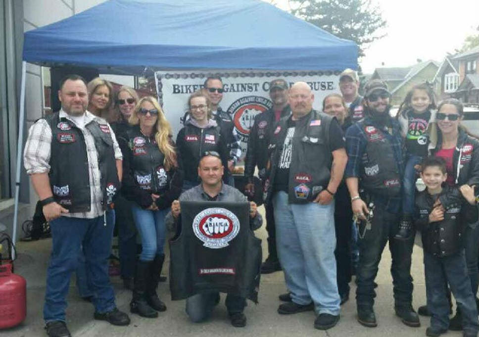 How a group of US bikers are trying to stop child abuse