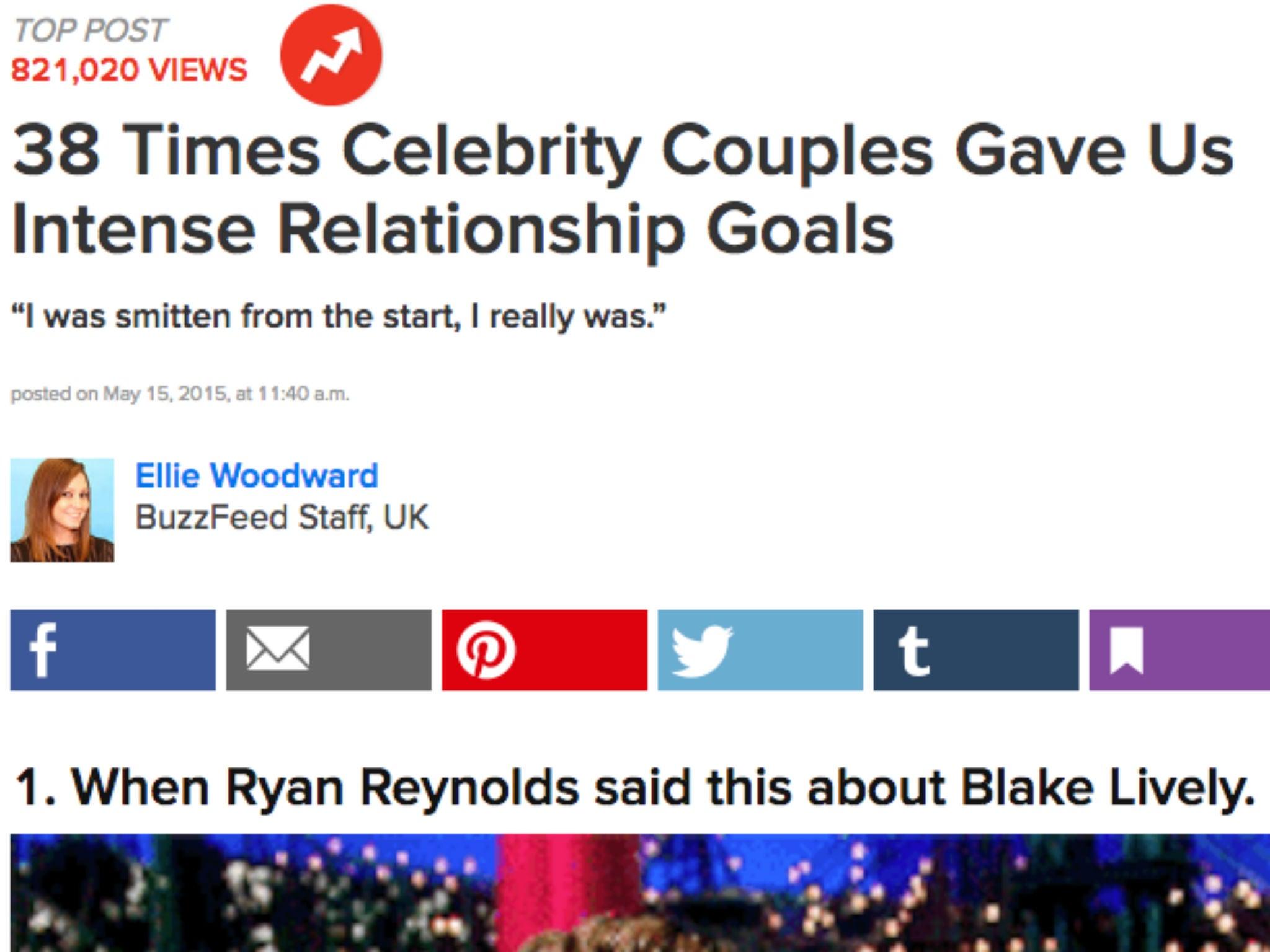 buzzfeed celebrity hookup stories