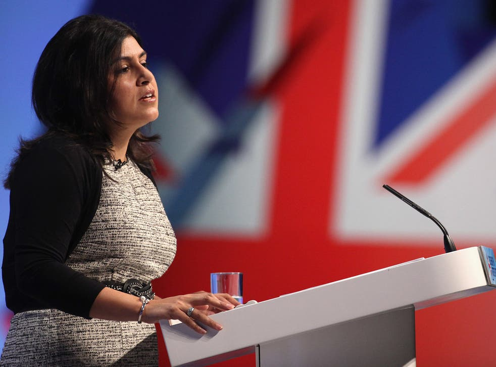 Ms Warsi has ended her support for the campaign for Britain to leave the EU