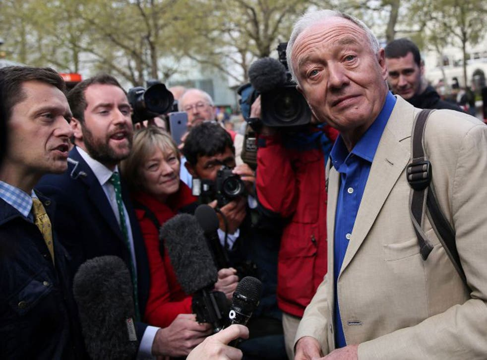 Former Mayor of London, Ken Livingstone, who was suspended by the Labour Party last week