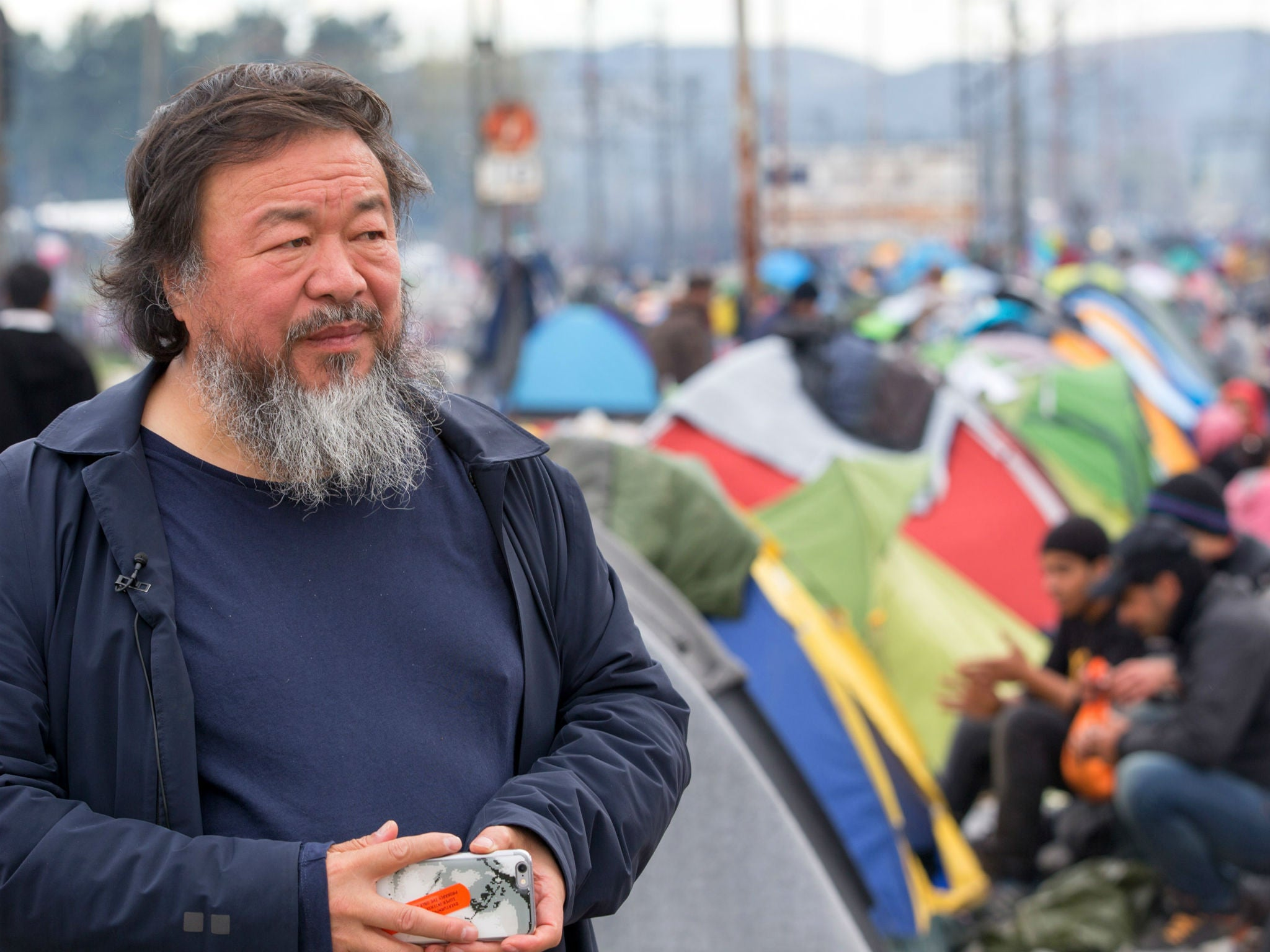 Ai Weiwei shoots 'over 600 hours' of footage for film about the refugee crisis