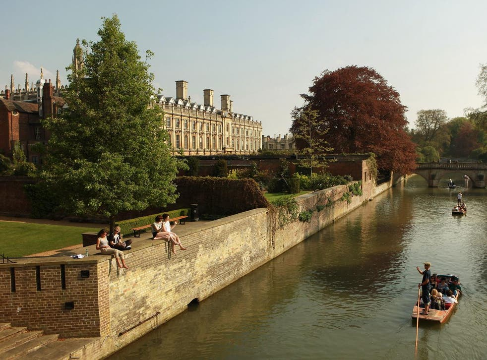 The University of Cambridge, pictured