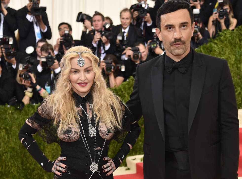 Madonna arrives at the Met Gala