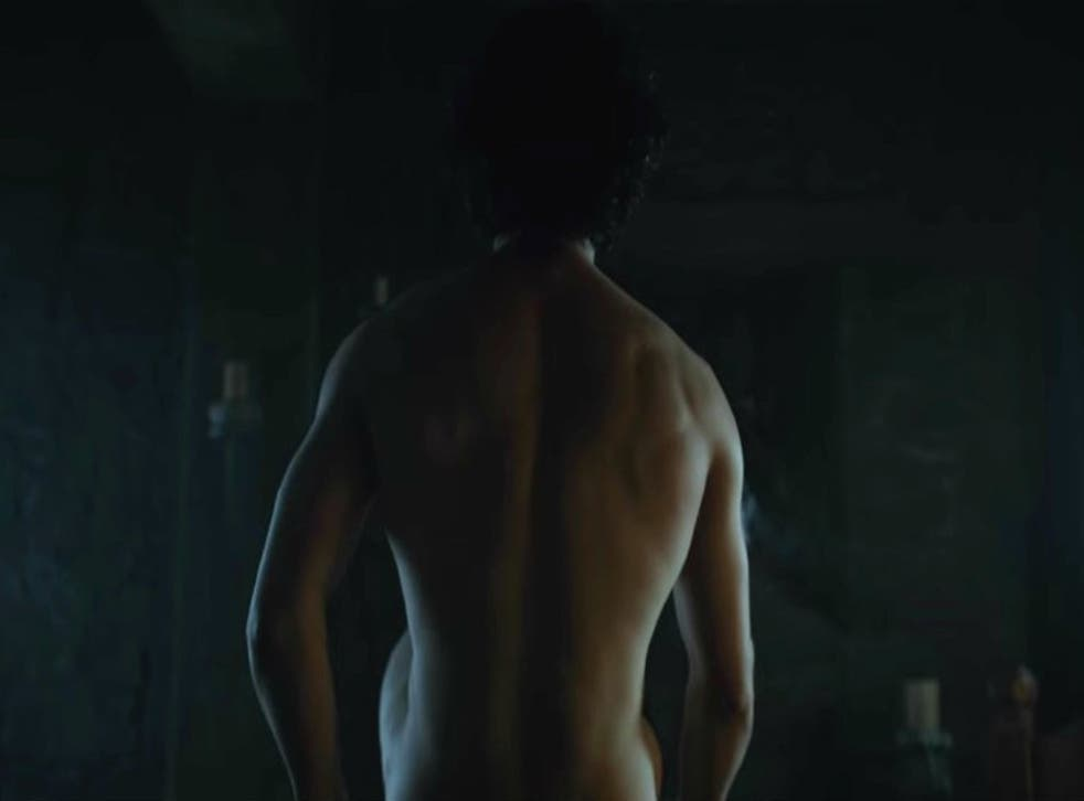 Jon Snow sits up in the episode 3 trailer
