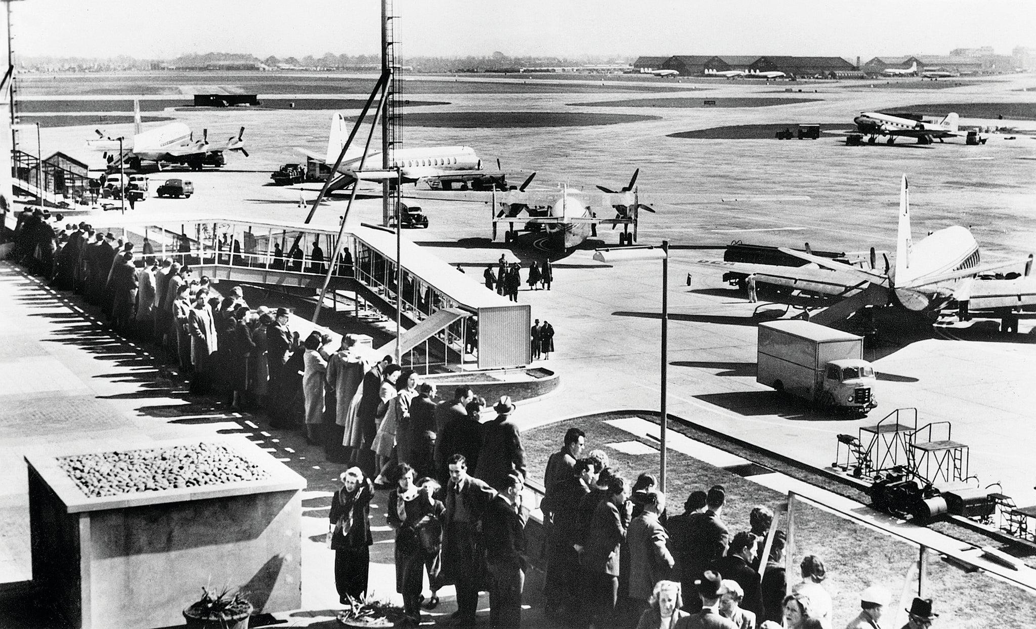 Spectators in 1958