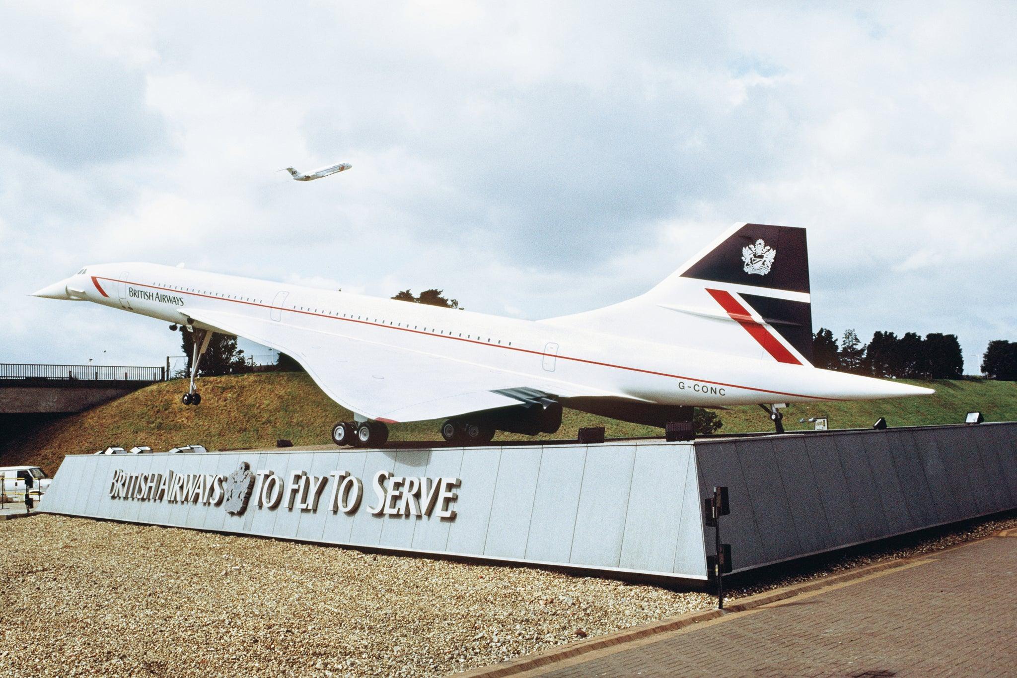 A 40 per cent scale model of Concorde