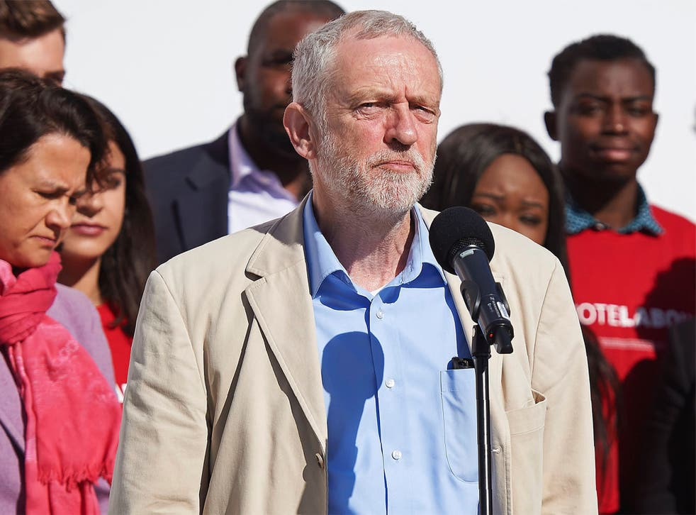 Jeremy Corbyn wrote the letter two years before becoming Labour leader