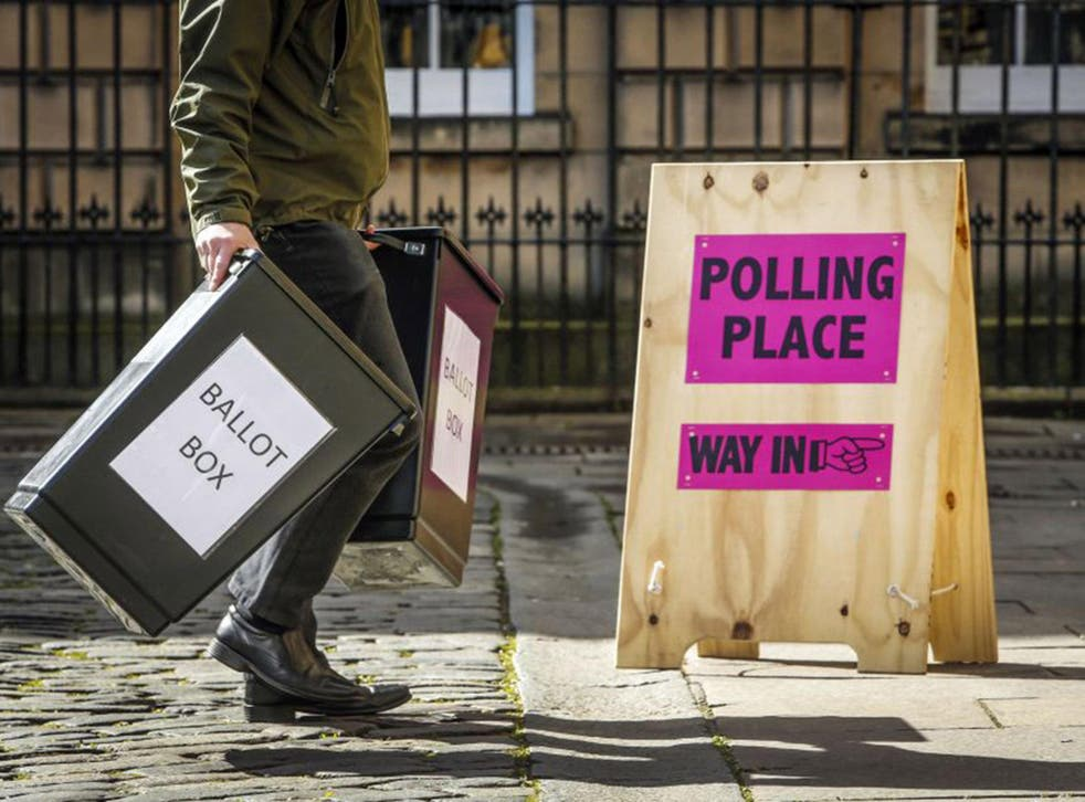 The Government will also consider proving greater powers to police to deal with intimidation near polling stations