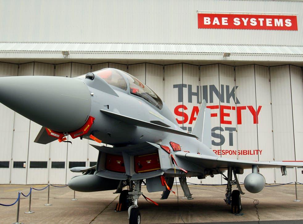BAE systems earns around 40 per cent of its near-£8 billion revenue in America