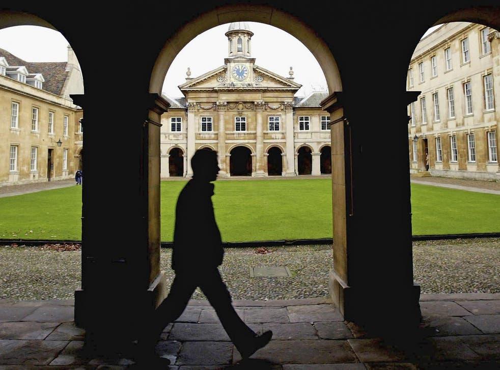 Cambridge University, pictured